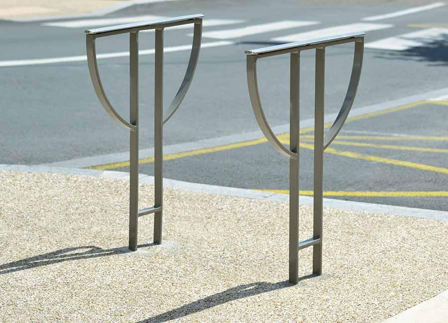 Support vélo - Acropole