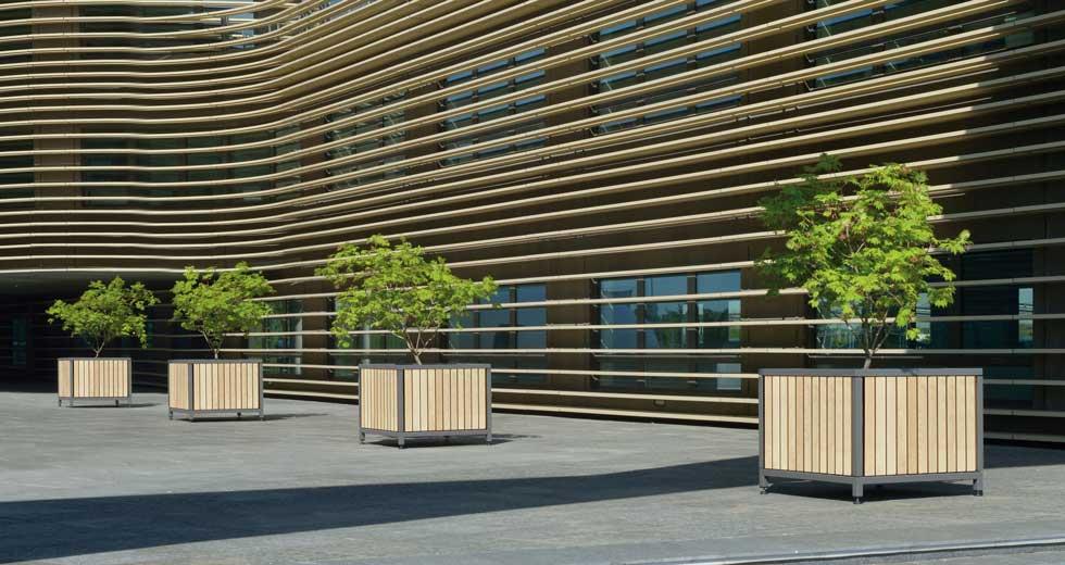 Area - Bac d'orangerie - Mazagan bois 55