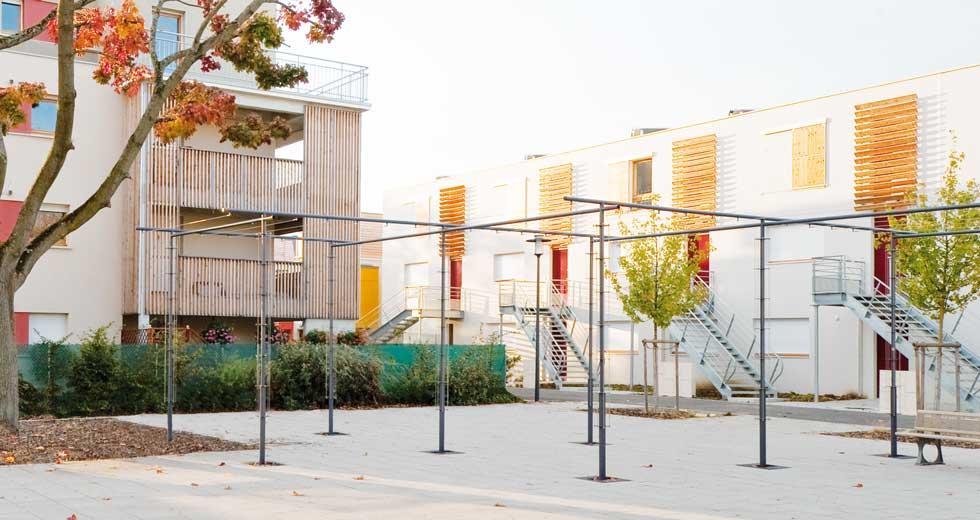 Area - Structure pour grimpantes - Babylone