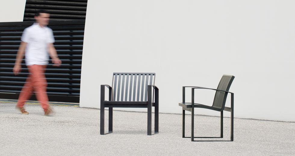 Area - Chaise et fauteuil - Newport