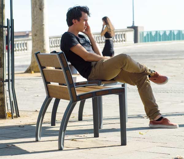Area - Chaise et fauteuil - Athènes