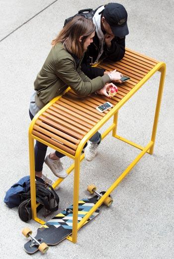 Area - Table et comptoir - Nice bois