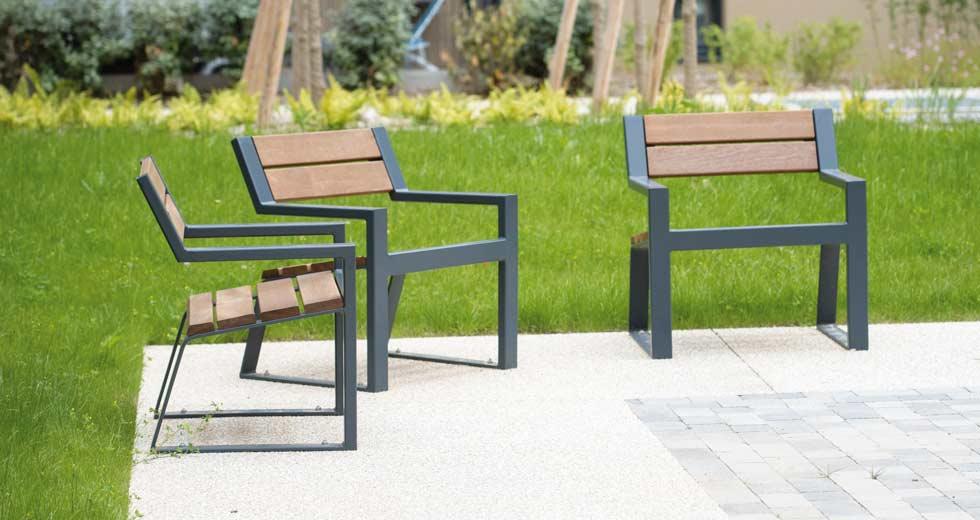 Area - Chaise et fauteuil - Berlin