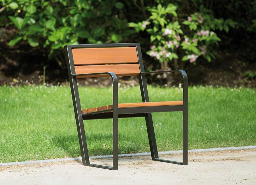 Chaise et fauteuil - Prague B110