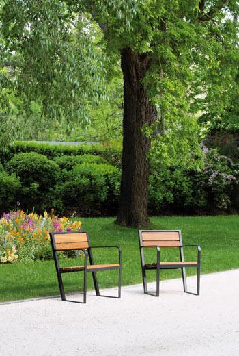 Area - Chaise et fauteuil - Prague B110