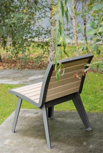 Area - Chaise et fauteuil - Montréal bois